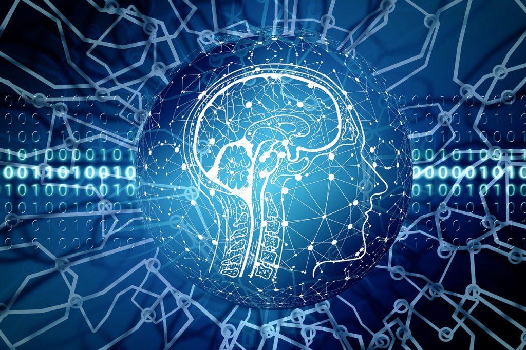 artificial intelligence, brain, think