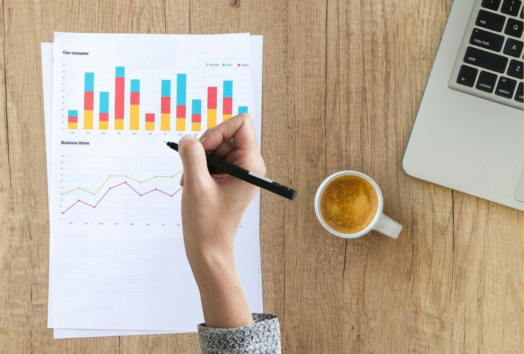 audit, chart, graph